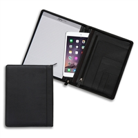 Zippered Left-Handed Padfolio