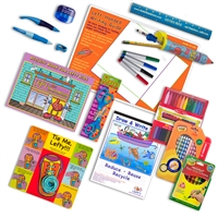 Art Set for Left-handed Kids • For Ages 4 - 10