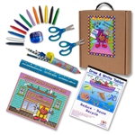 Little Lefty Art Set with Blue Accessories