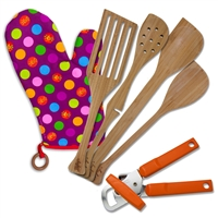 6 Piece Left-Handed Kitchen Set