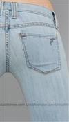 Frankie B Light Blue Denim Prepster Skinny Jeans