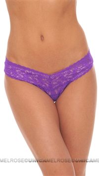 Hanky Panky Violet Signature Lace Lowrider Thong