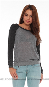 Chaser Grey Triblend Sweater