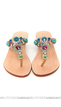 Mystique Multi Colored Jeweled Wedges