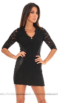 NightCap Mini Black Dress
