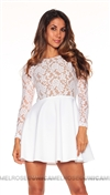 Boulee White Avery Mini Dress
