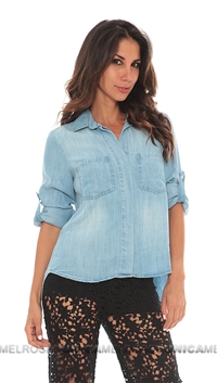Bella Dahl Slip Back Button Up Shirt