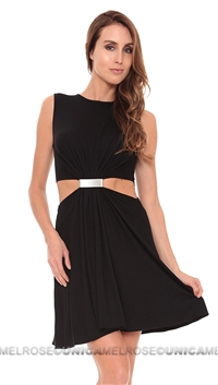Cut25 Black Mini Dress
