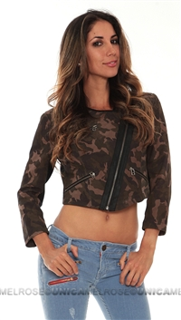 Cut25 Suede Camo Jacket