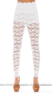 Nightcap White Snow Dixie Lace Pant