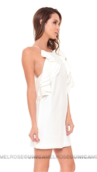Cameo White Wake Me Dress