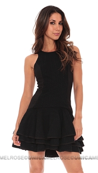 Cameo Black Make A Move Mini Dress