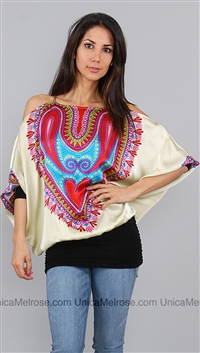 Voom Silk Heart Top