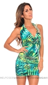 Savee Couture Jade Leopard Dress