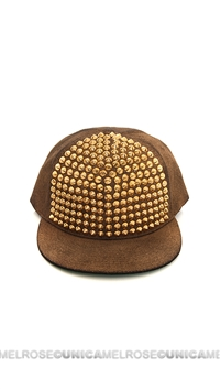 Been Here Before Golden Studded Hat