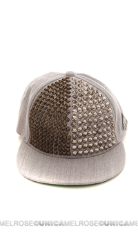 Been Here Before Silver Studded Hat