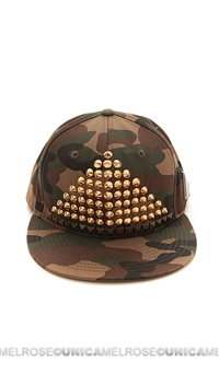 Been Here Before Army Golden Studded Hat