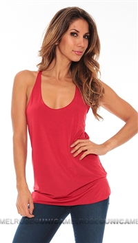 Leiluna Collection Red Flimsy Tank