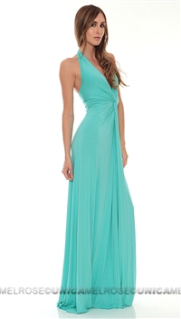 Mijo Turquoise Long Dress