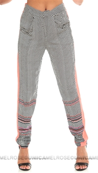 Mink Pink 'World On a String' Multi Colored Pant