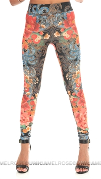 Mink Pink 'Oriental Express' Leggings