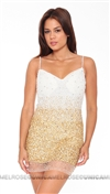 Musani Couture Golden Babito Sequence Dress