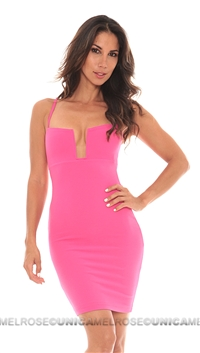 Nookie Lip Stadium Bustier Dress