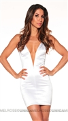 Mark Wong Nark White Oscar Dream Mini Dress