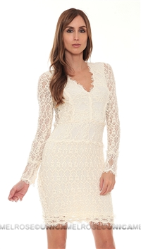 Nightcap Ivory Lace Dress