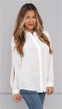 Equipment White Button Up Shirt