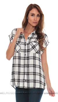 Rails Britt Rolled Shirt