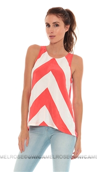Townsen Poppy Edge Tank Top