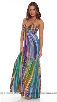 Sky Orcid Stephanos Maxi Dress