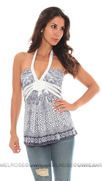 Sky White Adeen Top