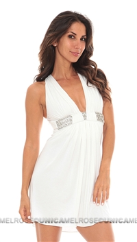 Sky White Hagai Dress