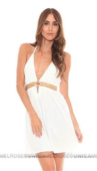 Sky White Harleen Dress