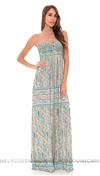 Sky Aqua Lanassa Long Dress