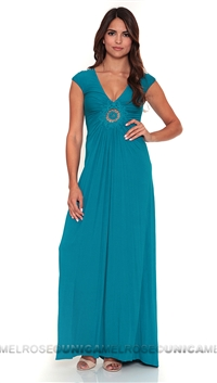 Sky Tea Librada Long Dress