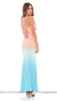 Sky Ombre Mariamne Dress