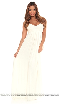Sky Bone Mallie Long Dress