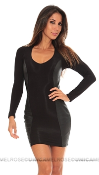 Sky Black Iheoma Mini Dress
