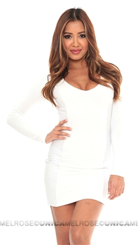 Sky White Iheoma Mini Dress
