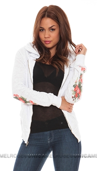 Wildfox White Hooded Roses Are Red