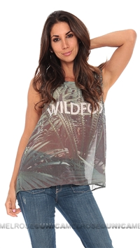 Wildfox Jungle Multi Top