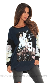Wildfox 'England' Sweater Love Potion No. 9
