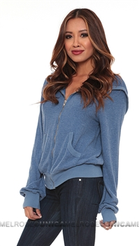 Wildfox Blue Wish List Hoody