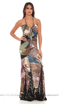 Sky Champagne Opriah Maxi Dress