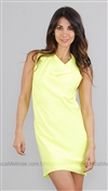 Boulee Neon Yellow Carrie Dress