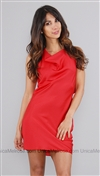 Boulee Red Carrie Dress