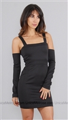 Boulee Black Kirsten Off Shoulder Dress